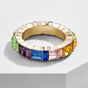 Gold Filled Multicolor CZ Ring